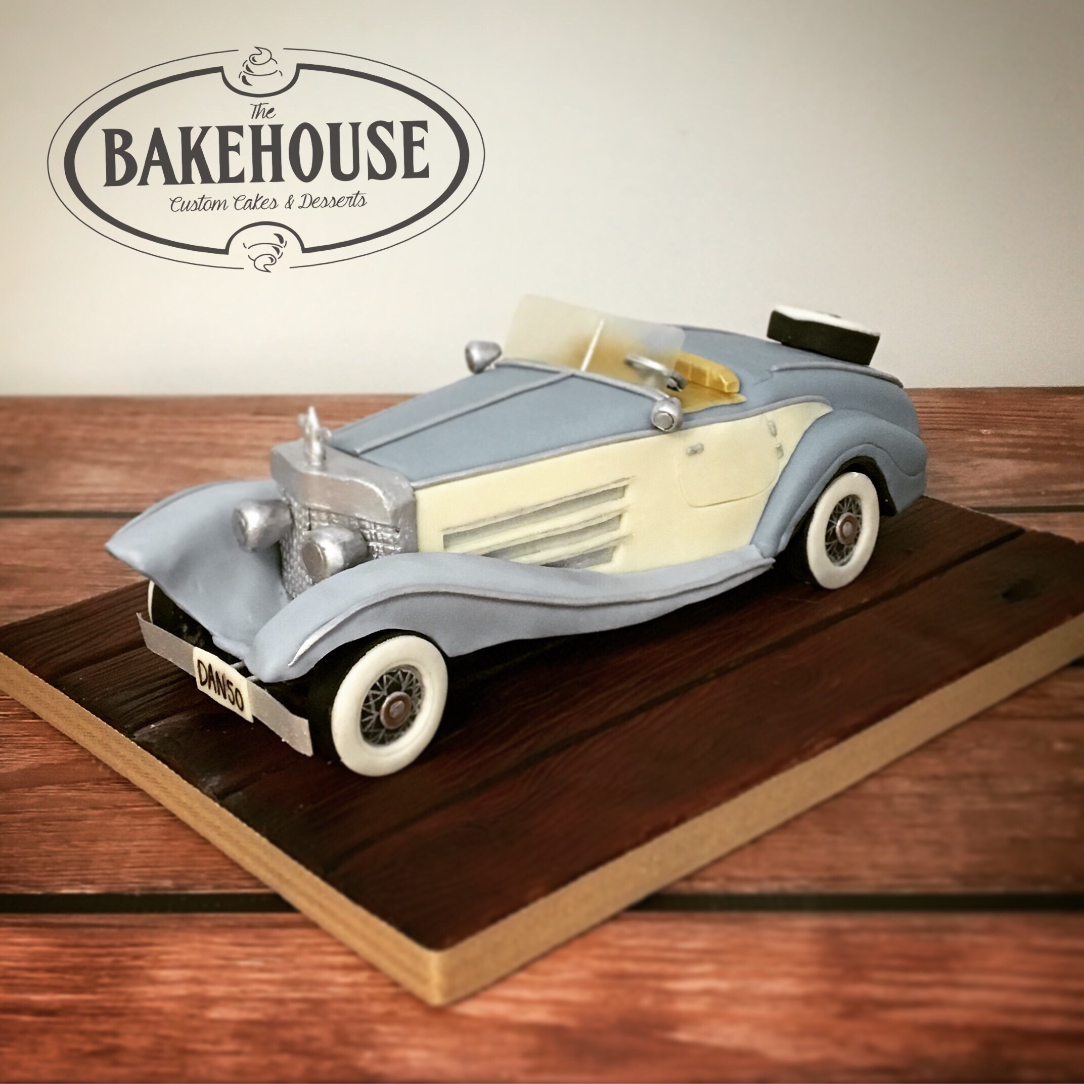 Rolls Royce 1920s Car Cake Creations By The Bakehouse